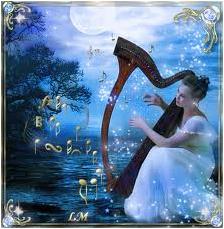 Арфа - музыкальный инструмент