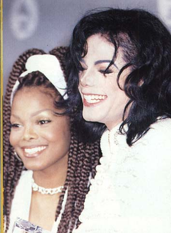Майкл Джексон с женой