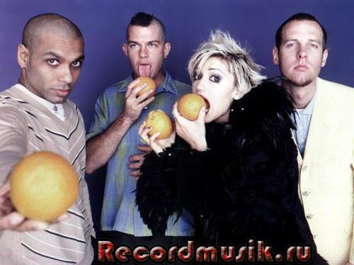 Группа No Doubt с апельсинами