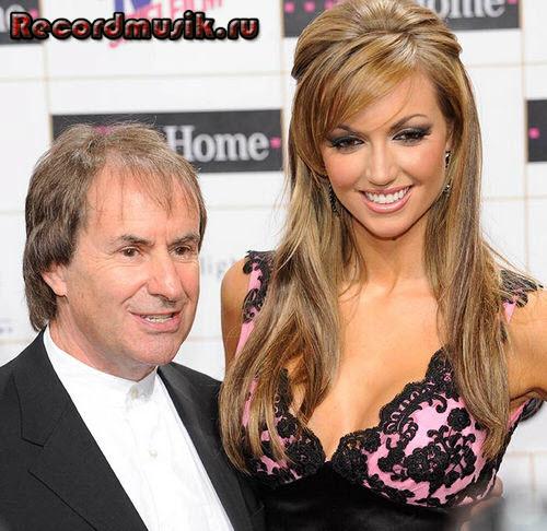 Крис де Бург с дочкой Розанной