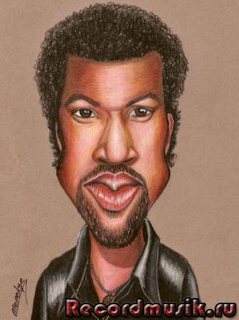Lionel Richie - карикатура