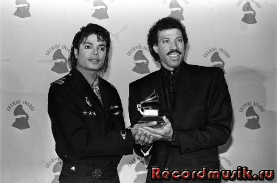 Lionel Richie с Майклом Джексоном