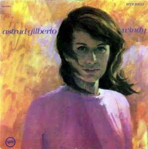 Astrud Gilberto in a picture