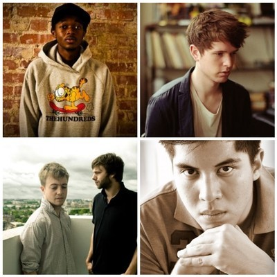 Mount Kimbie, James Blake end Maybe Kings