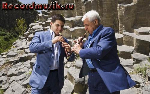 Дживан Гаспарян с внуком