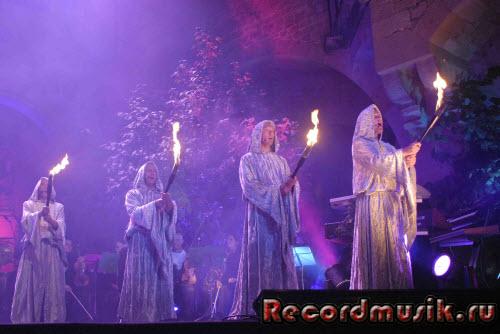 Группа Gregorian на выступлении