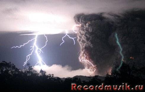 Amethystium - фото молнии