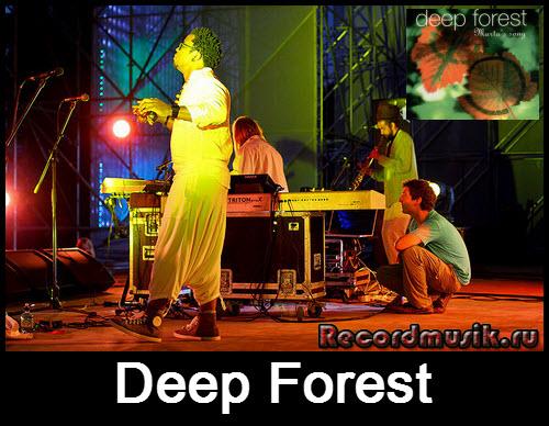 Deep Forest перед выступлением