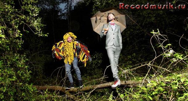 Группа Röyksopp - на съемках