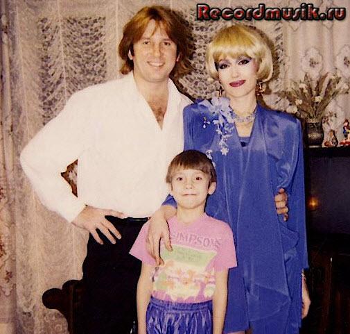 Юрий Лоза с женой Светланой и сыном Олегом
