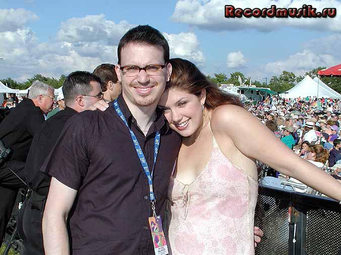 Jane Monheit с мужем Риком Монталбаном