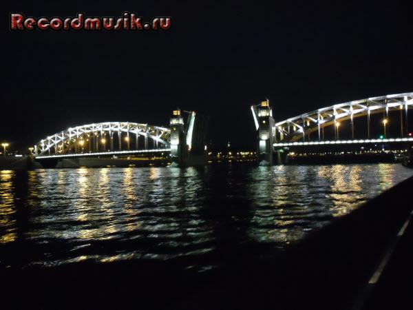Отпуск в Санкт-Петербурге - Ночная экскурсия, разводные мосты