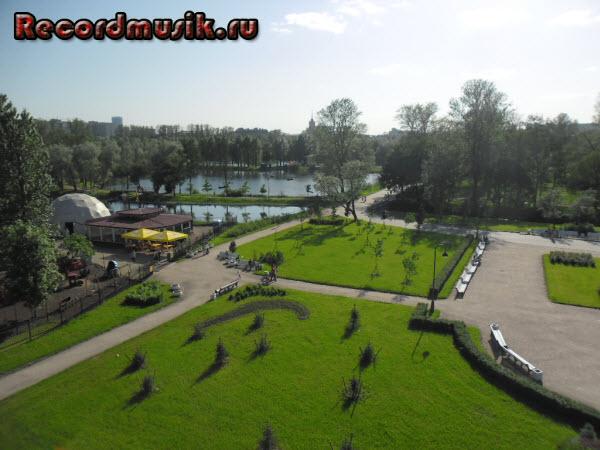 Отпуск в Санкт-Петербурге - Парк Победы
