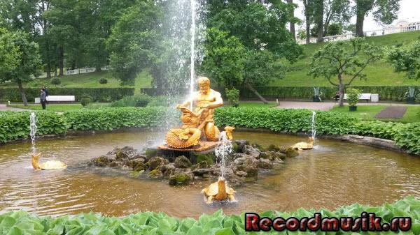 Отпуск в Санкт-Петербурге - Петергоф, фонтаны