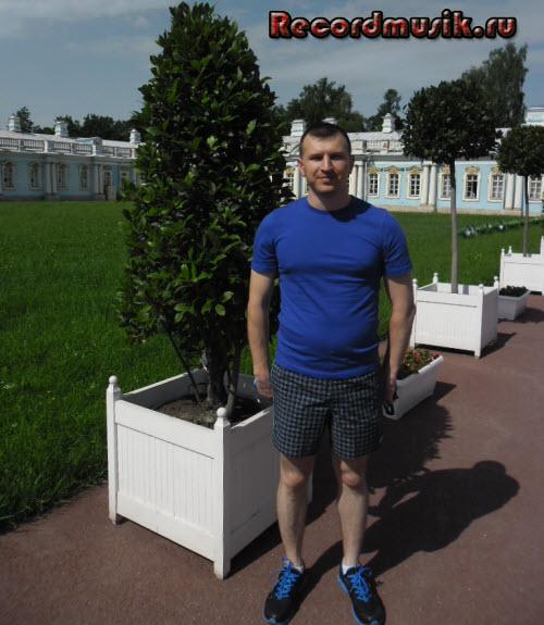 Отпуск в Санкт-Петербурге - я и лавр