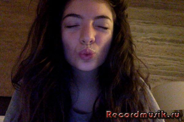 Lorde - воздушный поцелуй