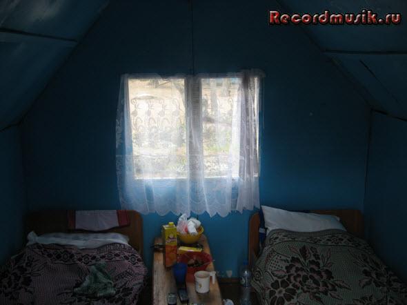 Мой отдых на озере Чалкар - дом, вид изнутри