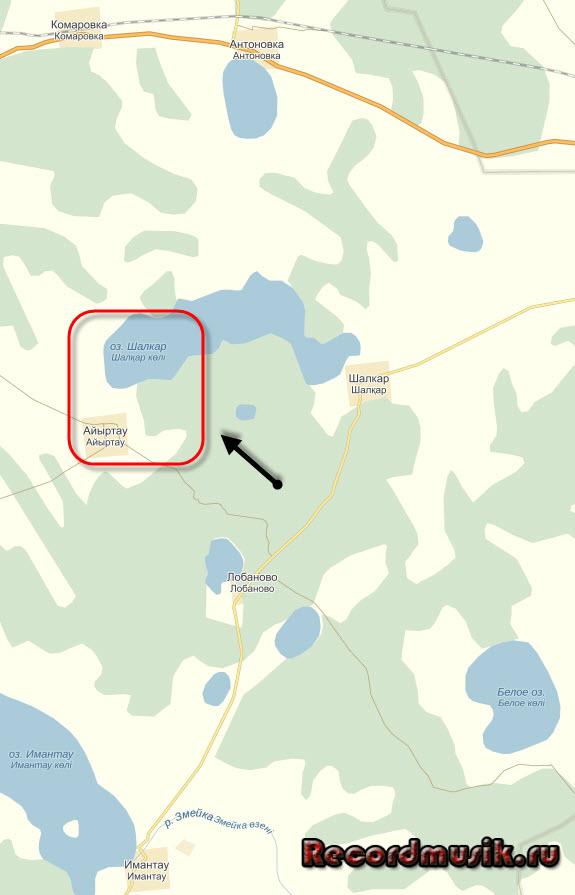 Мой отдых на озере Чалкар - как добраться