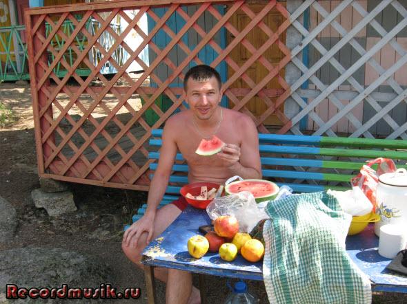 Мой отдых на озере Чалкар - легкий обед