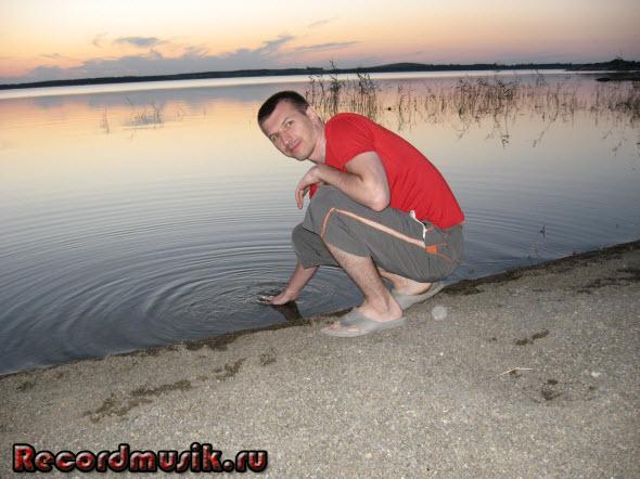 Мой отдых на озере Чалкар - вечерний закат