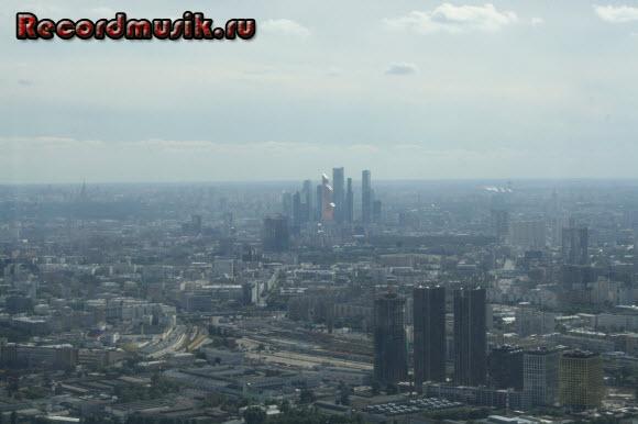 Отдых в Москве и Подмосковье - Останкино, вид на город
