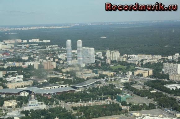 Отдых в Москве и Подмосковье - Останкино, вид на столицу