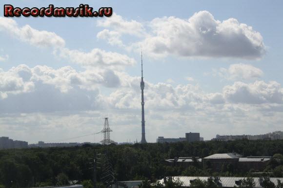 Отдых в Москве и Подмосковье - гостиница Восход, вид из окна