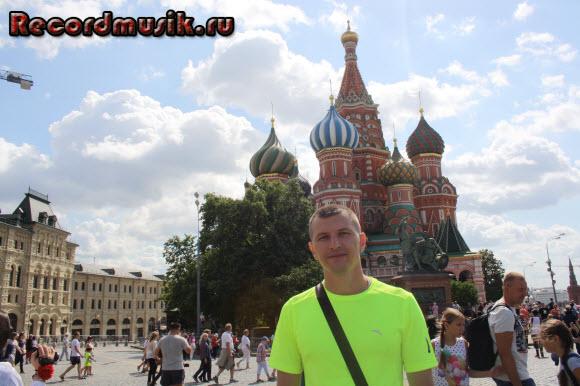 Отдых в Москве и Подмосковье - храм Василия Блаженного