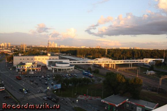 Отдых в Москве и Подмосковье - метро Владыкино надземное и подземное