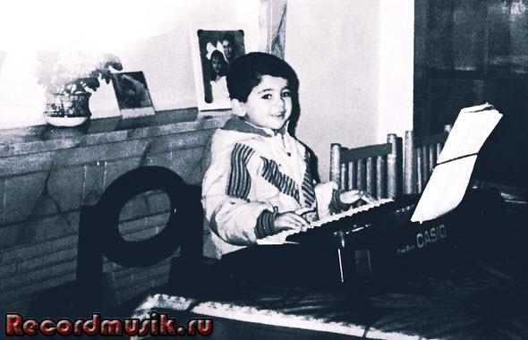 Armen Miran в молодости