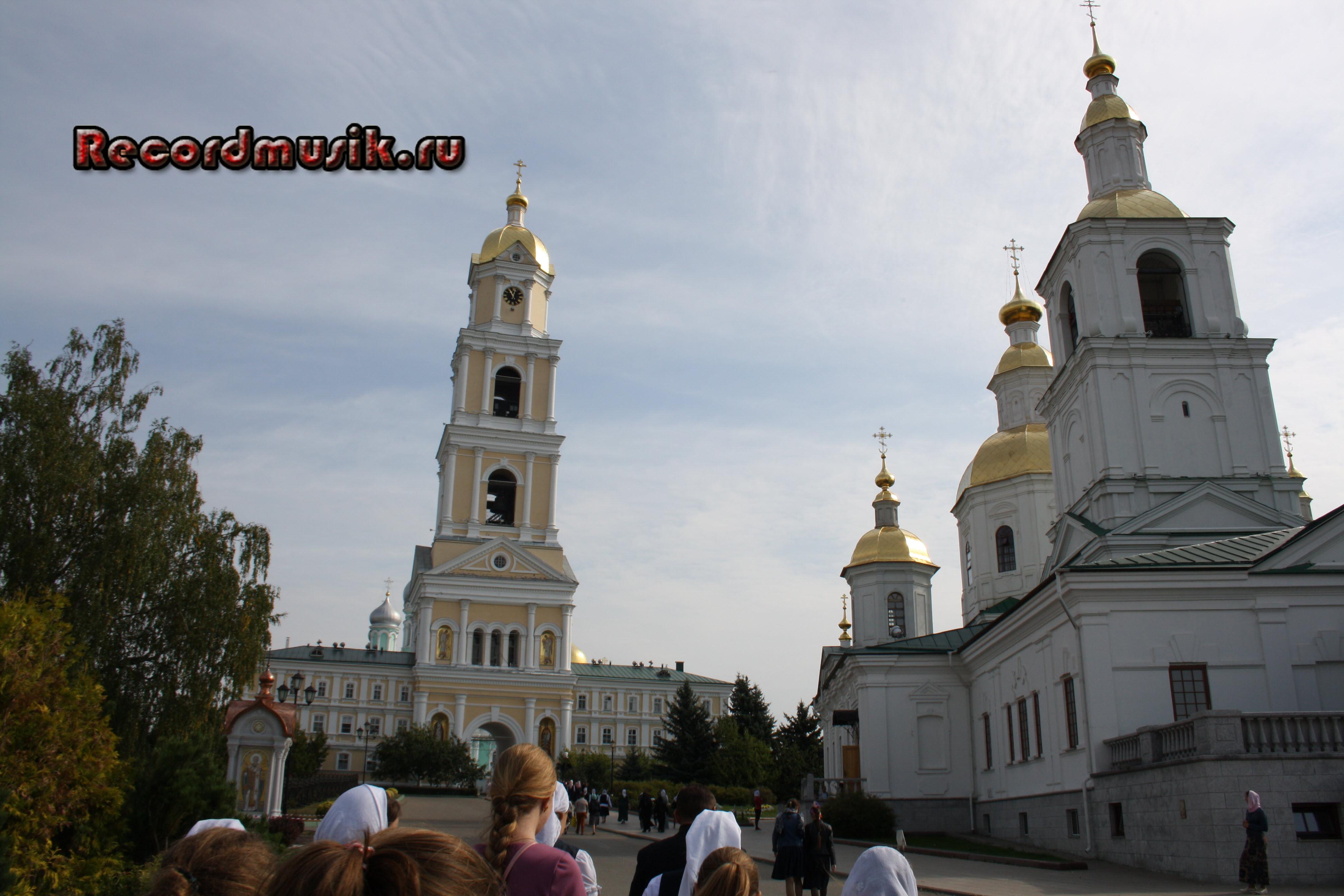 Мой отдых в Нижегородской области - дивеевский монастырь, колокольня