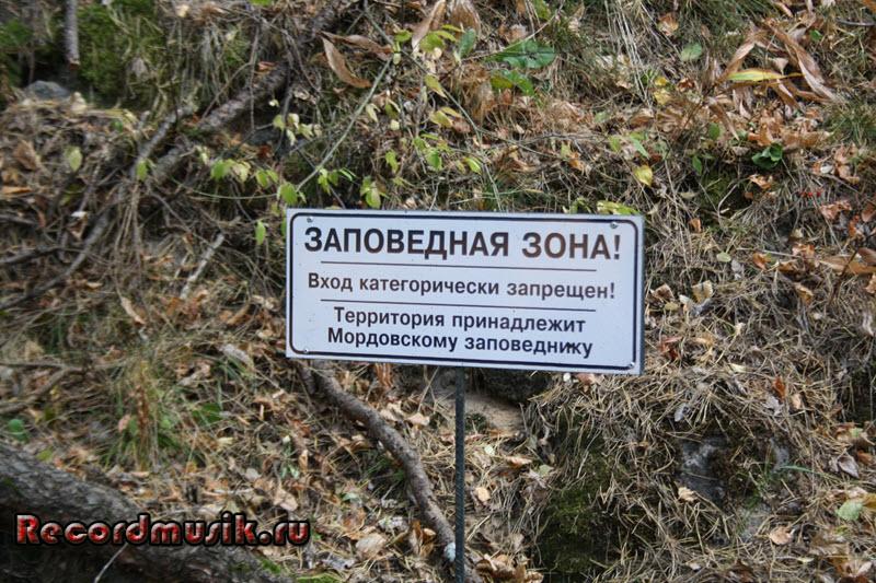 Мой отдых в Нижегородской области - источник возле мордовского заповедника