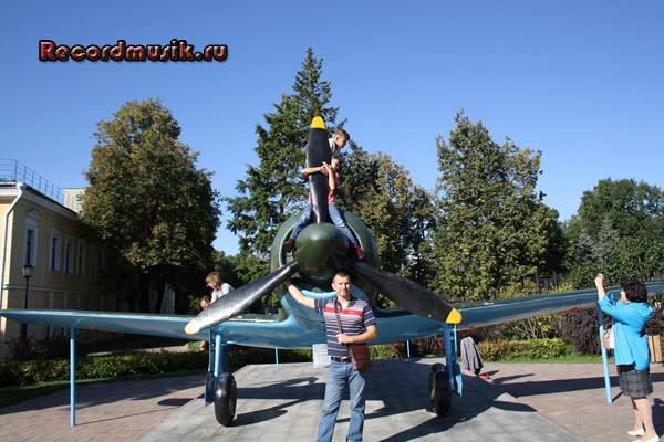 Мой отдых в нижегородской области - Кремль, самолет