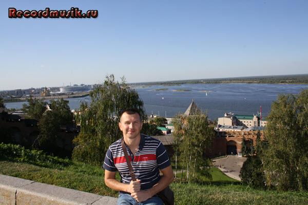 Мой отдых в нижегородской области - Кремль, вид на реку