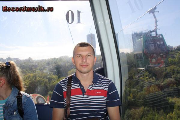 Мой отдых в нижегородской области - Нижний Новгород, канатная дорога, в кабинке