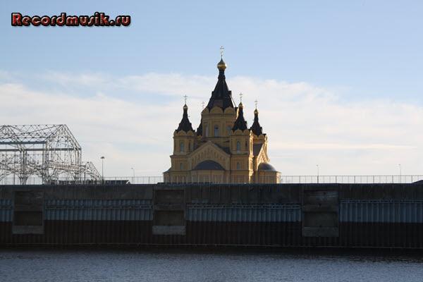 Мой отдых в нижегородской области - Нижний Новгород, прогулка по Волге, храм