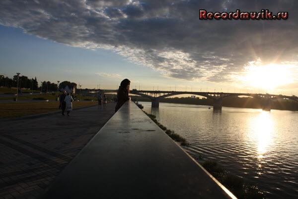 Мой отдых в нижегородской области - Нижний Новгород, вечерняя набережная