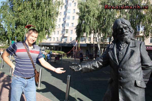 Мой отдых в нижегородской области - арбат, бронзовый памятник