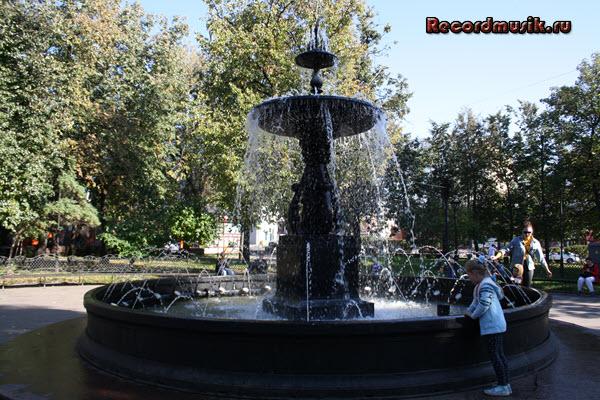 Мой отдых в нижегородской области - арбат, небольшой фонтан