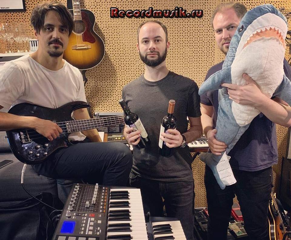 Группа Друг в студии