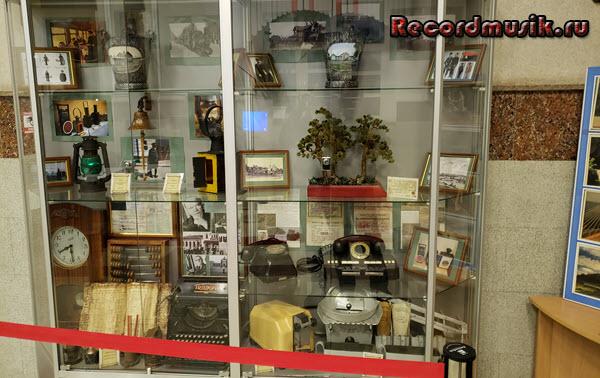 Мой отдых во Владимирской области - Муром, экспонаты на вокзале