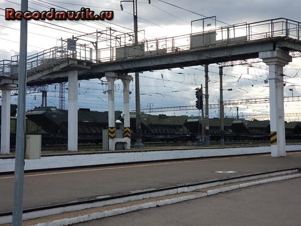 Мой отдых во Владимирской области - Муром, поезд с военной техникой