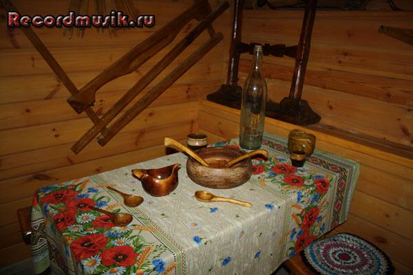 Мой отдых во Владимирской области - Муром, стол в трапезной
