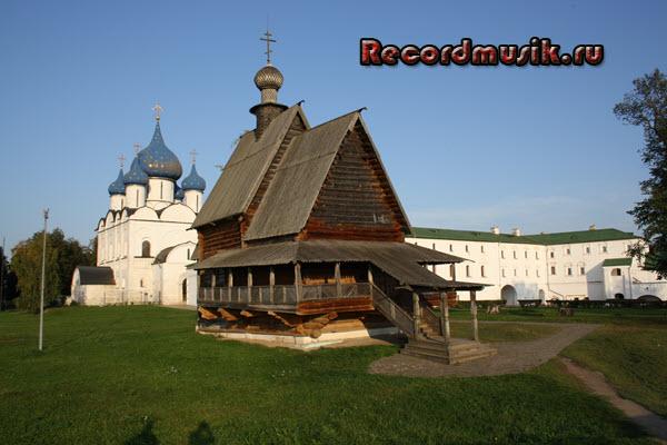 Мой отдых во Владимирской области - Суздаль, деревянная церковь Святого Николая