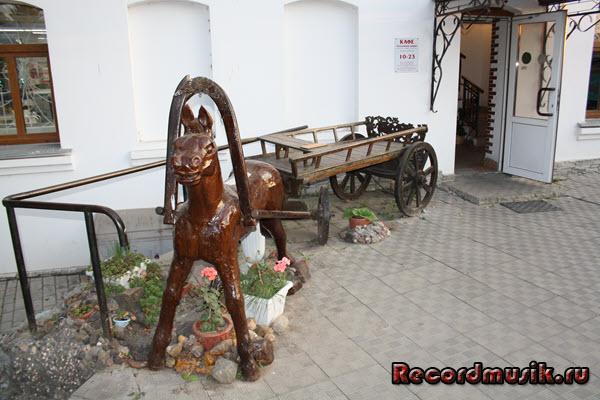 Мой отдых во Владимирской области - Суздаль, лошадь в повозке