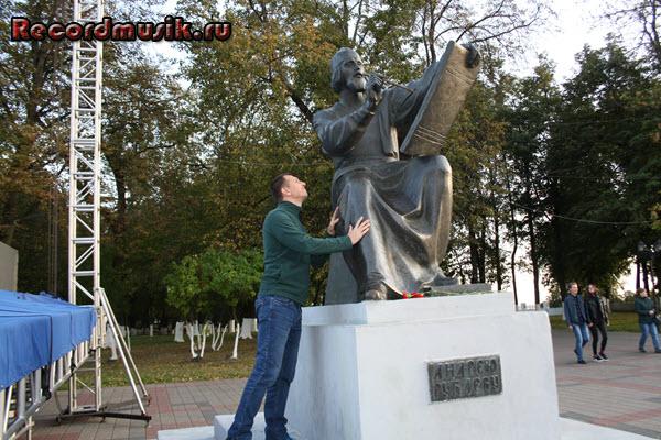 Мой отдых во Владимирской области - Владимир, памятник Андрею Рублеву