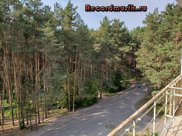 Мой отдых во Владимирской области - Владимир, вид с балкона гостиницы