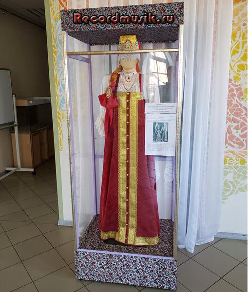 Мой отдых во Владимирской области - девичий праздничный костюм Нижегородской губернии