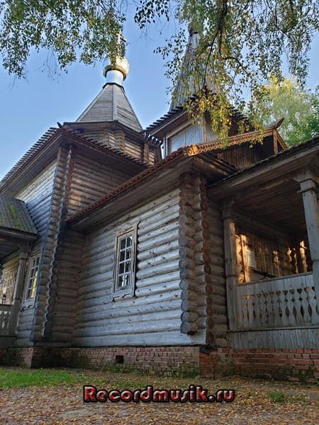 Мой отдых во Владимирской области - храм Казанской Богоматери