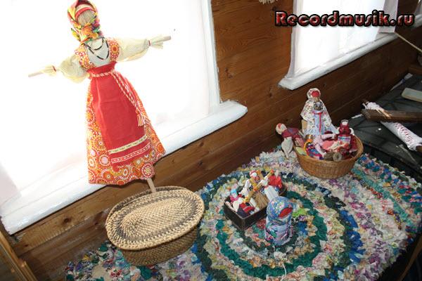 Мой отдых во Владимирской области - старинные игрушки в музее